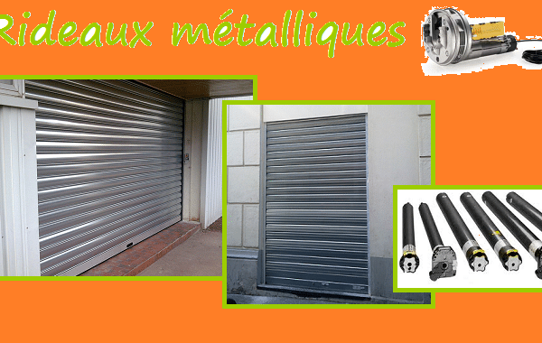 installation rideau metallique